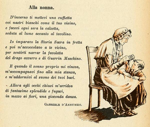 poesia sulla nonna