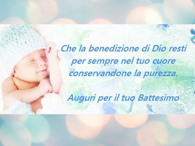 battesimo frasi