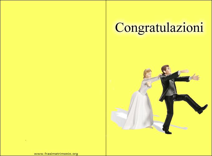 biglietti di auguri matrimonio