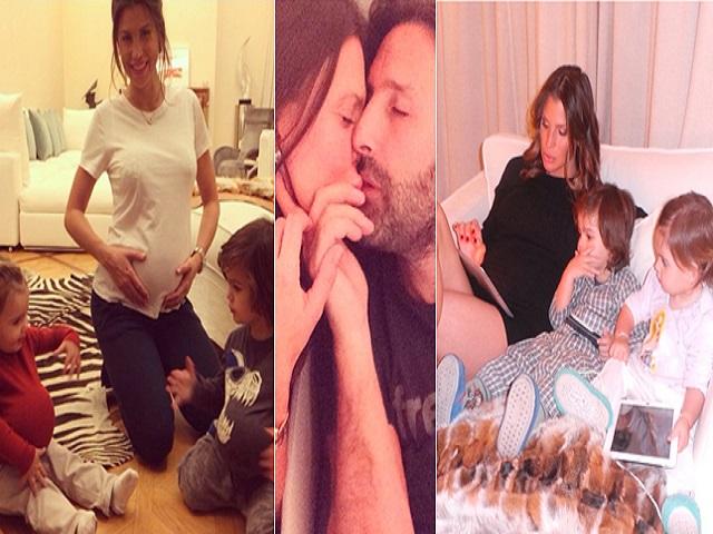 Claudia Galanti incinta