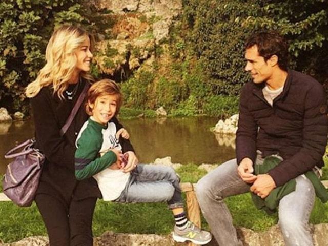 Elena Santarelli figlio Giacomo