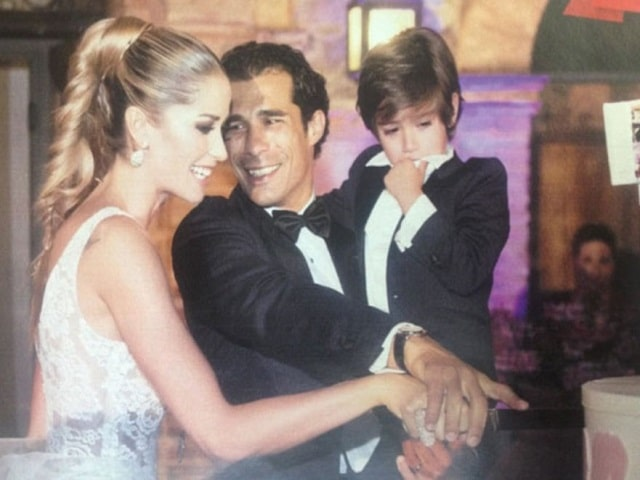 Elena Santarelli matrimonio