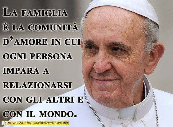 frasi sulla famiglia papa francesco