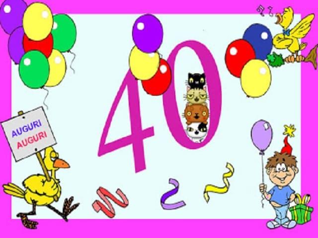 40 anni compleanno