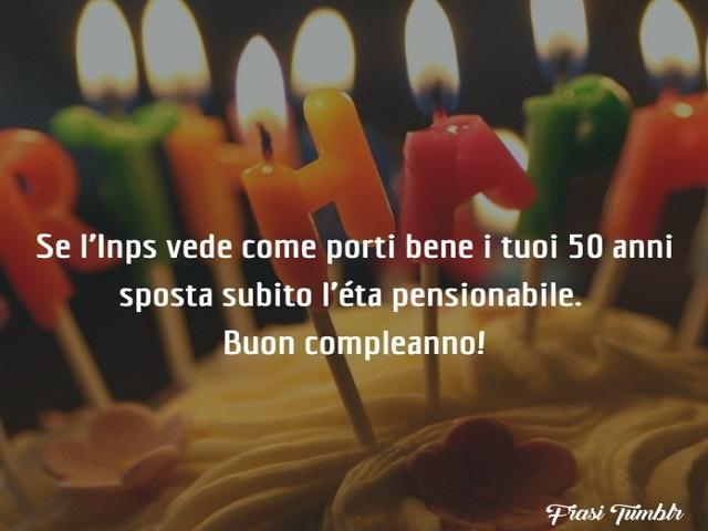 buon compleanno 50 anni