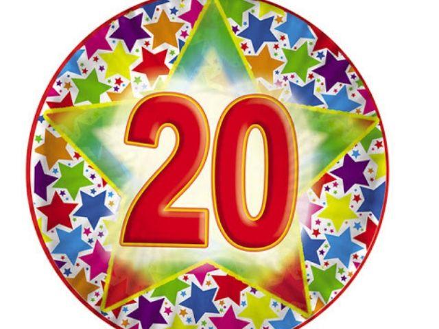 compleanno 20 anni