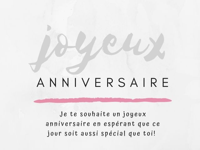 buon compleanno francese