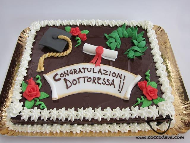 immagini torta laurea
