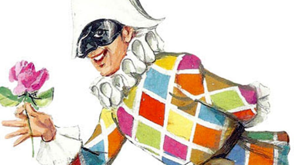 arlecchino maschera