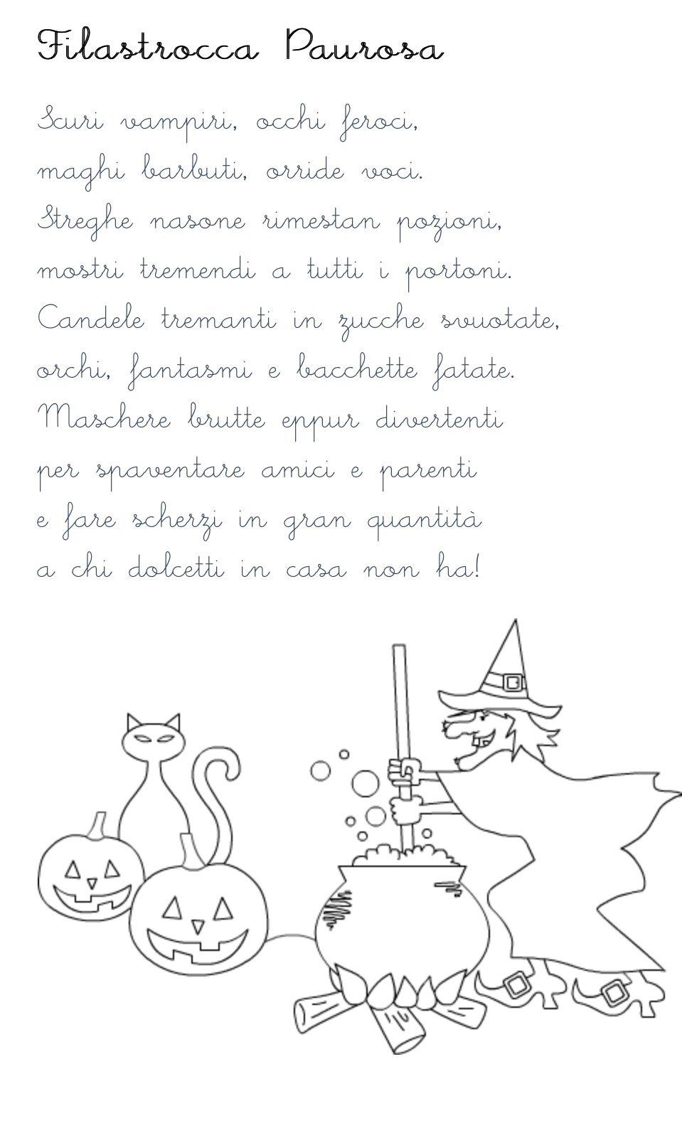 filastrocca halloween