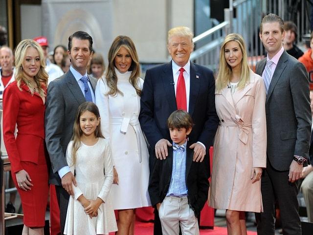 Donald Trump paternità