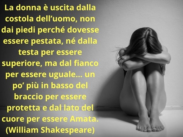 frasi sulla violenza sulle donne shakespeare