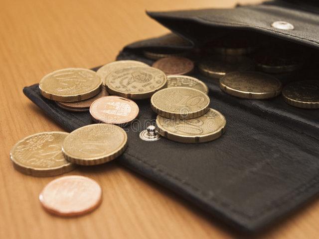mancanza di soldi