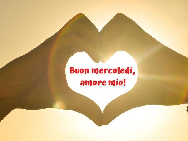buon mercoledì amore