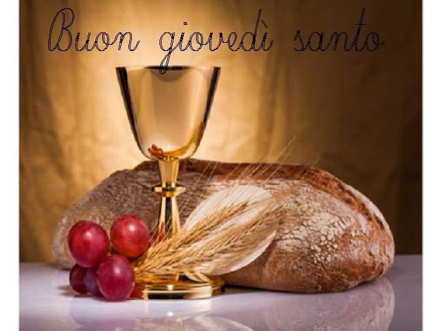 buongiorno buon giovedì santo