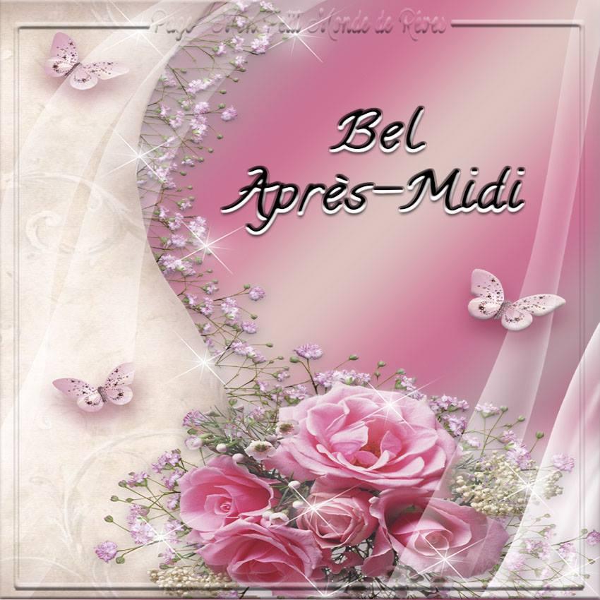 buon pomeriggio in francese