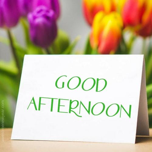 Buon pomeriggio in inglese