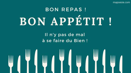 buona cena in francese