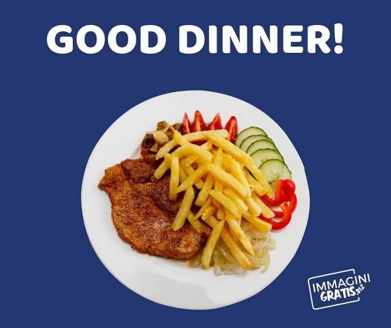 buona cena in inglese