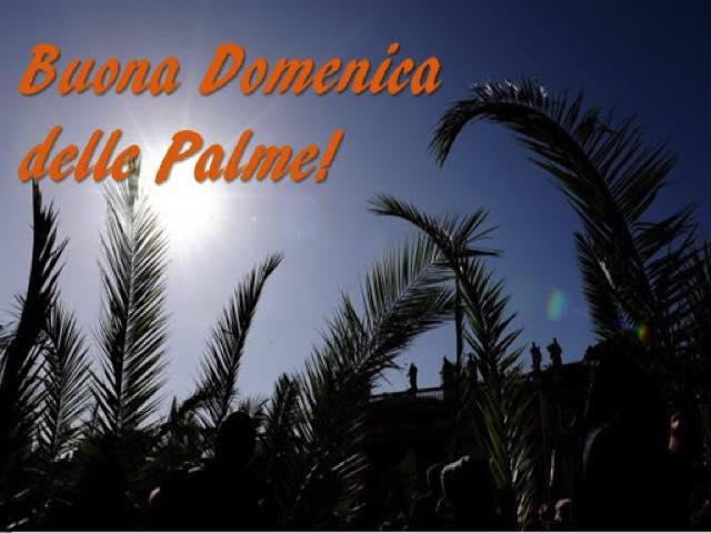 frasi buona domenica delle palme