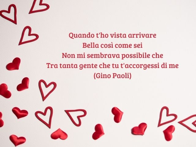 frasi d'amore canzoni