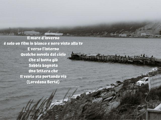 frasi sul mare d'inverno