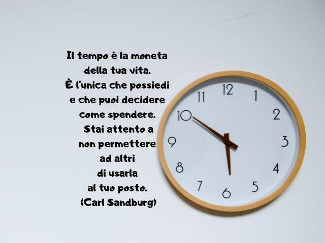 frasi sul tempo e la vita