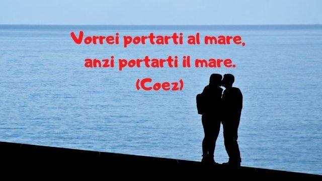 frasi sull'amore e il mare