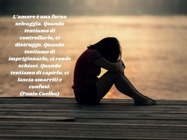 frasi d'amore tristi