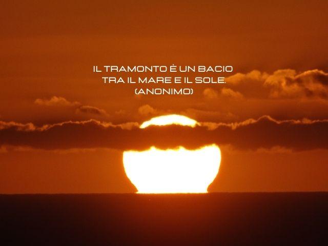 frasi sull'amore e il tramonto