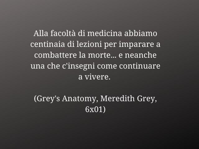 grey's anatomy frasi