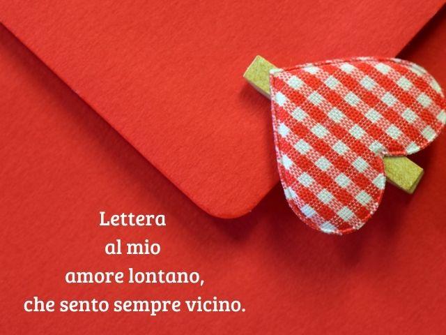 lettera ad un amore lontano