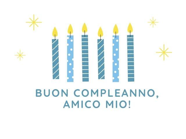 buon compleanno amico mio