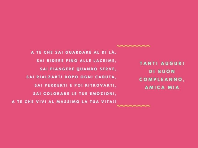 frasi compleanno amica tumblr