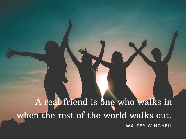 frasi in inglese sull'amicizia