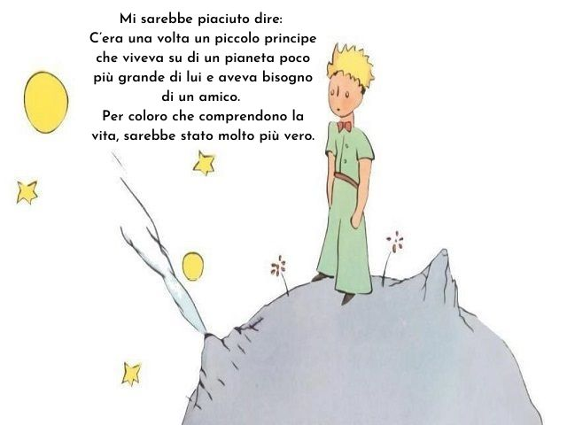 frasi piccolo principe