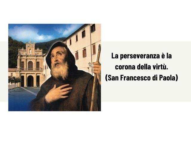 san francesco di paola frasi